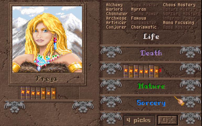 Custom büyücü ekranı.