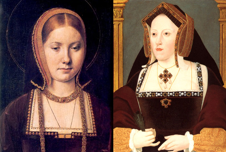Aragon'lu Katherine; gençliği ve yaşlılığı.
