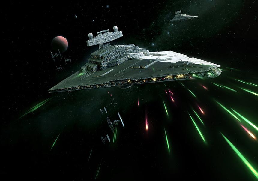 İmparatorluk'un ezici ateş gücü!