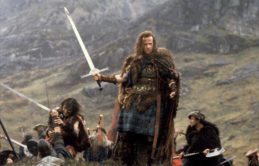 Artık kimseciklerin hatırlamadığı harika film; Highlander (1986)
