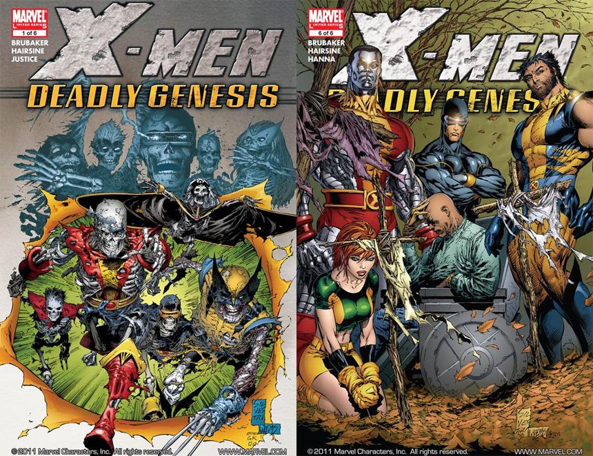 Platin Çağ'ı en iyi X-Men Deadly Genesis temsil ediyor olabilir mi?