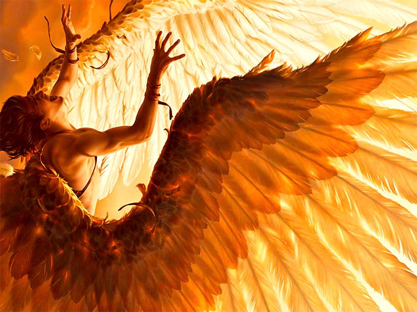 Alın size temsili bir Icarus illüstrasyonu