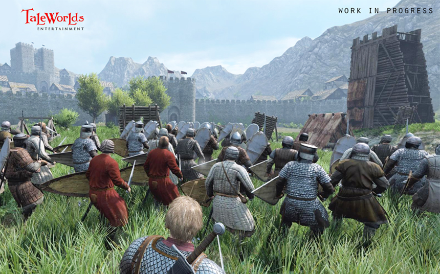 Bannerlord'da kuşatmaların son hali.