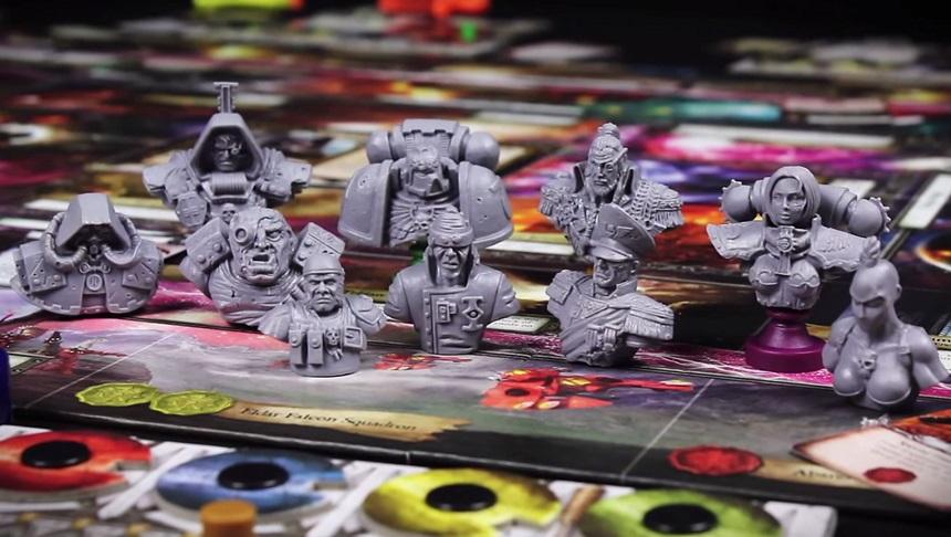 Soldan sağa: Tech Priest, Inquisitor, Ogryn, Sniper, Ultramarine, Psyker, Commissar, Rogue Trader, Canoness, Assassin