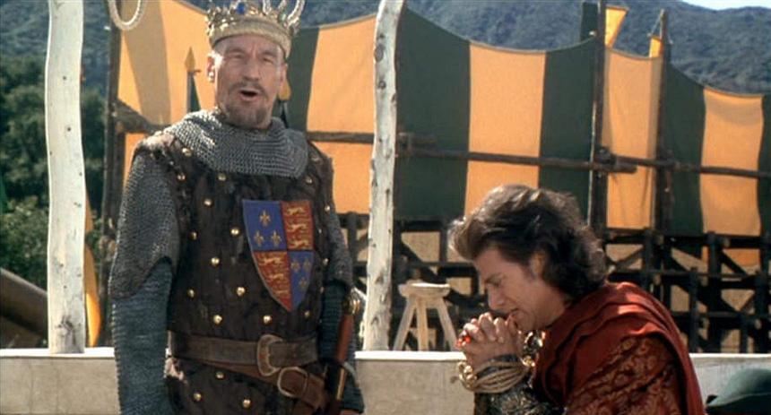 Kral Richard rolünde Patrick Stewart - Robin Hood: Men in Tights (1993)