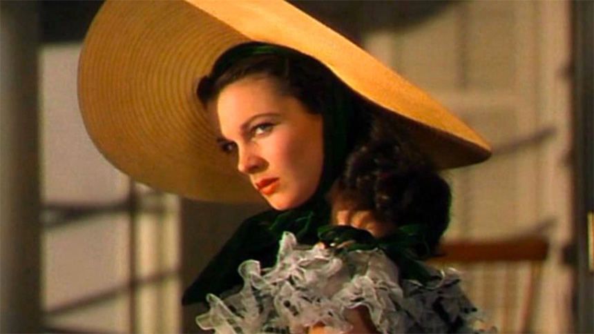 Scarlet O'Hara rolünde Vivien Leigh - Gone With The Wind (1939)