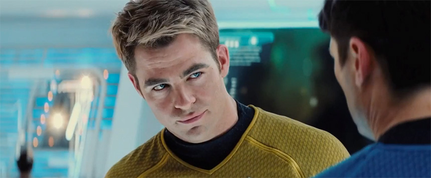 James T. Kirk rolünde Chris Pine - Star Trek: Into Darkness (2013)