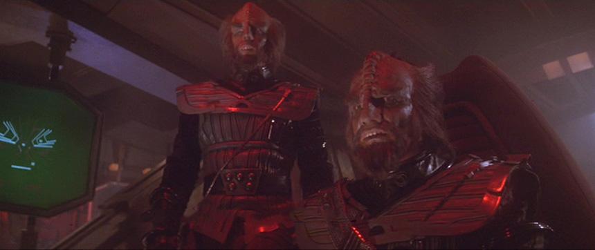 Star Trek: The Motion Picture'da bir temiz retconlanarak Maymunlar Cehennemi kaçkınına çevrilen klingonlar