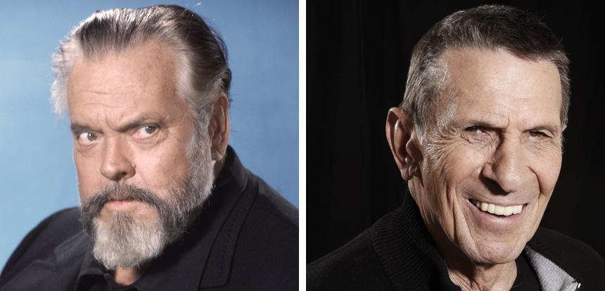 Orson Welles (1915-1985) ve Leonard Nimoy (1931-2015) Onları özlememek mümkün mü?