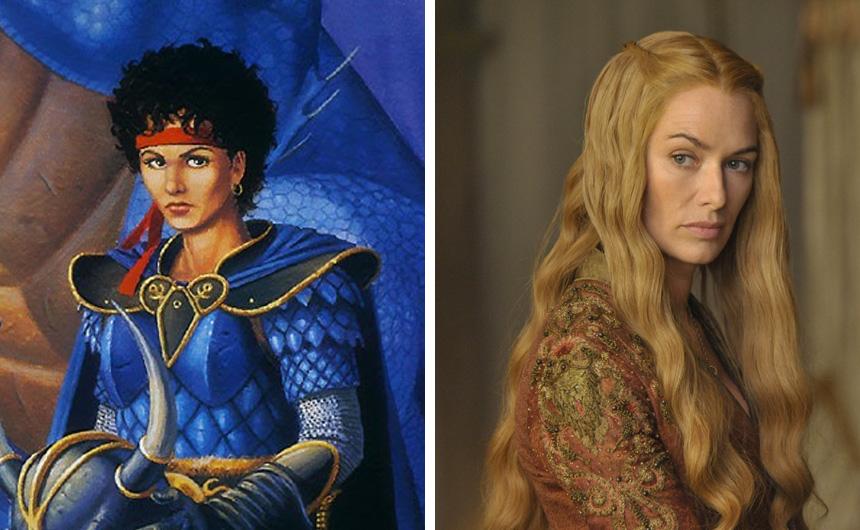 Kitiara Uth Matar ve Cercei Lannister