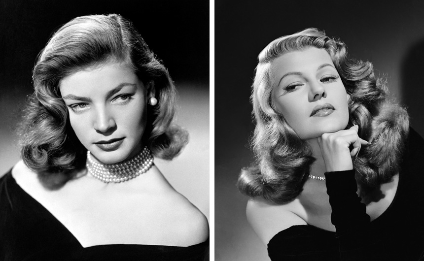 Lauren Bacall ve Rita Hayworth