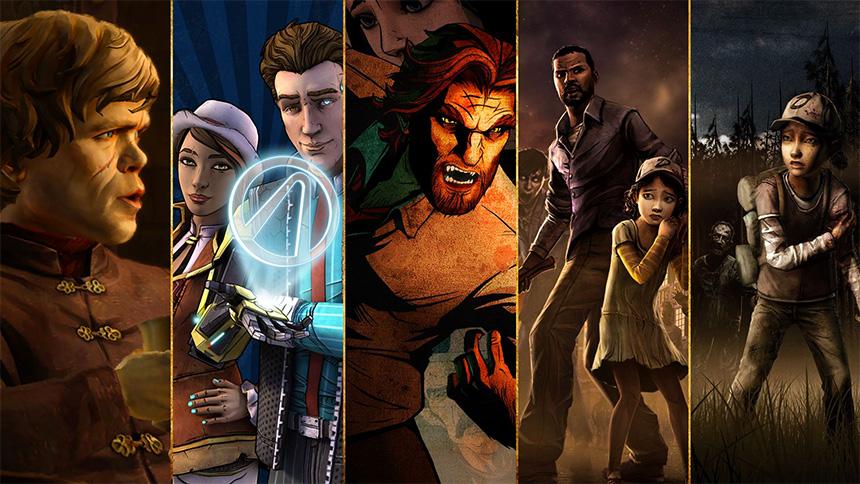 Telltale Games tarzını en iyi tanımlayan oyunlar