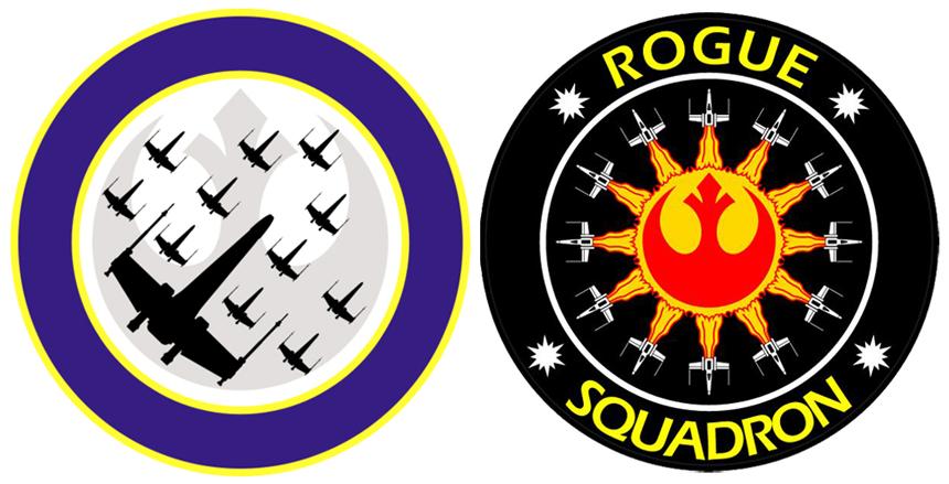 Rogue ve Wraith Squadron Armaları