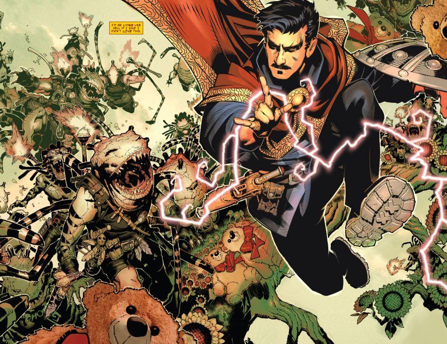 Doctor Strange (2015-) 001-002