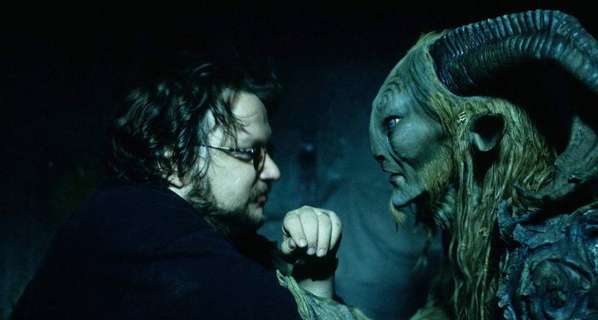 Yönetmen Guillermo Del Toro ve Pan