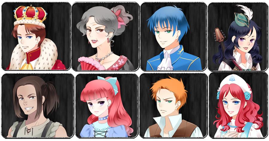 Oyundaki karakterden bazıları (Emin olun ki çok az bir kısmı).