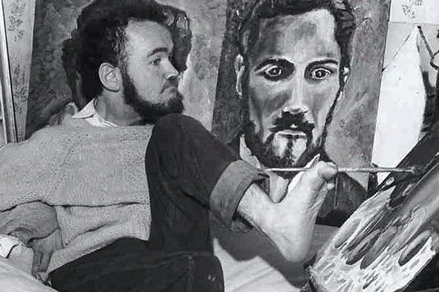 Yaratma dürtüsüne hayatı boyunca karşı koyamamış bir sanatçı: Christy Brown