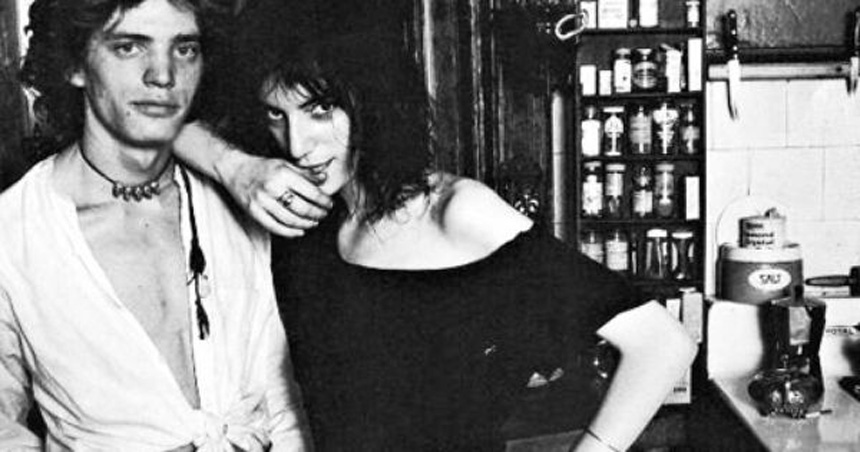 Patti ve Robert Mapplethorpe