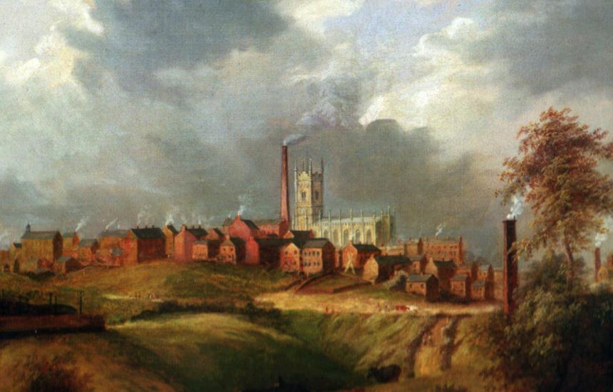 Sanayi devrimi sırasında Oldham ve dünyanın hava kirliliğiyle tanışması