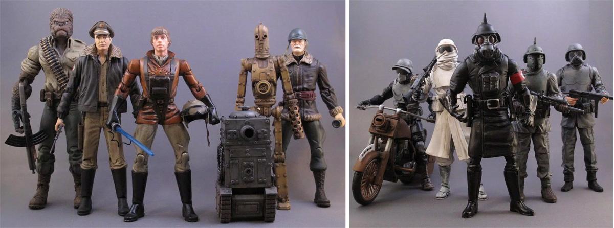 Daha fazla Star Wars alternatif tasarımı için: http://sillof.com/