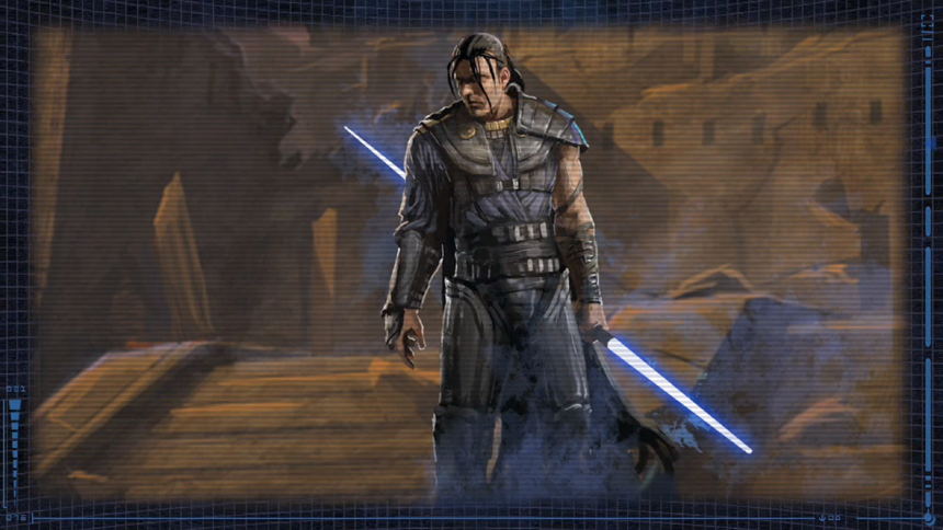 Kırmızı ışınkılıcı kullanmayan sayılı Sith'lerden Exar Kun