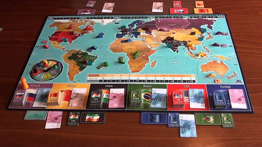 Imperial 2030 haritası.