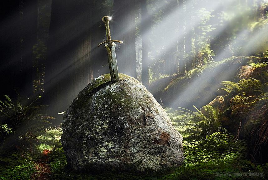 Efsanede adı geçen kılıç: Excalibur