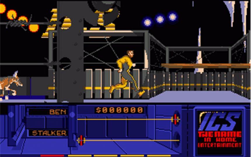 Grandslam Entertainment tarafından 1989 yılında çıkartılan The Running Man video oyunu
