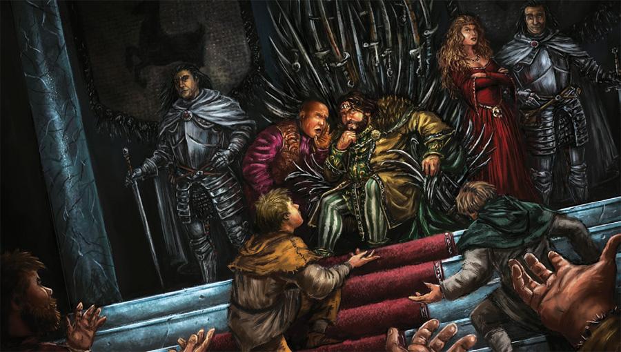 Lord Varys, Kral Robert Baratheon ve Kraliçe Cercei Lannister