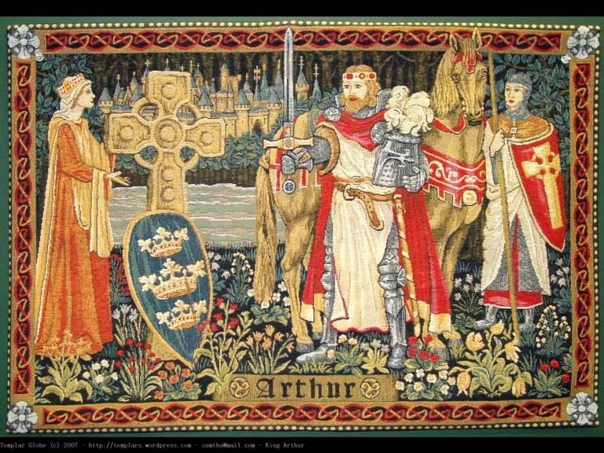 Kral Arthur ve kılıcı Excalibur