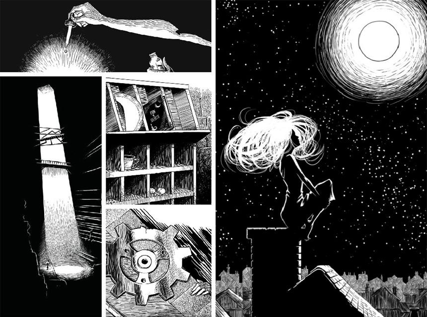 Sessizliğin Müziği'nden bazı çizimler