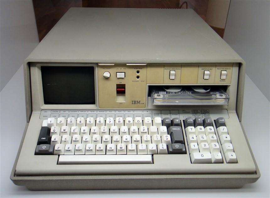 Bahsini ettiğim IBM 5100