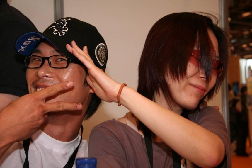 Kim_Young-Oh_and_Kim_Se_Young_20070706_Japan_Expo_2