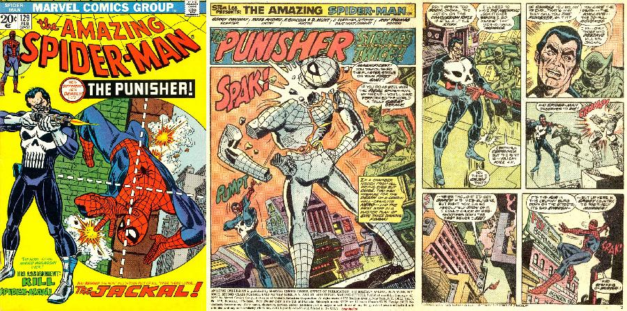 Amazing Spider-Man #129 (1974) - Punisher'ın ilk gözüktüğü sayı.