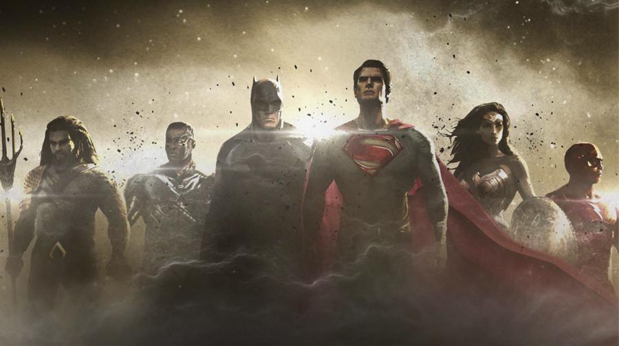 Çerçeveye zor sığıyorlar. Bir DC hayranı için nasıl bir mutluluktur bu...