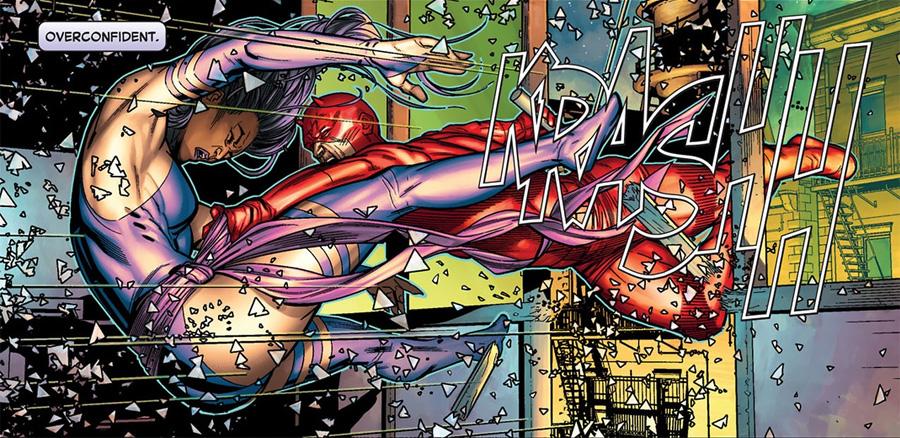 Daredevil'ın ninja hatun fetişi Vol 2