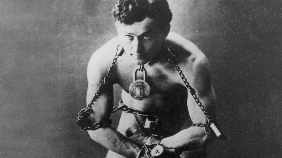 Gelmiş geçmiş en büyük kaçış uzmanı; Harry Houdini