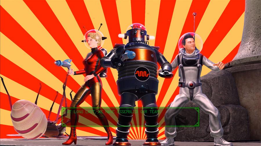 Scarlet Nova, The Robot ve Dick Starspeed