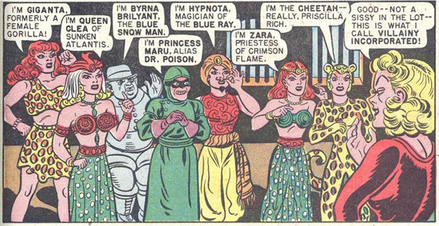 Villainy Inc. karakterleri.