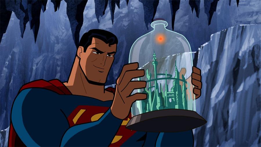 Şişedeki Krypton şehri Kandor