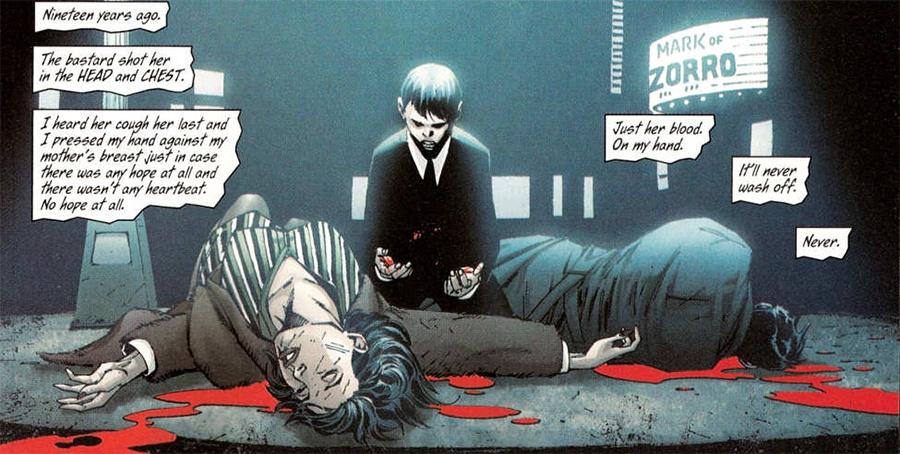 Gotham'daki suçlular o geceye bir dönebilseler, katile neler yaparlardı...