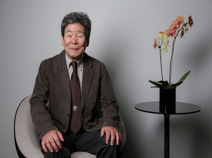 "TORONTO, ON -- SEPTEMBER 5, 2014--Japanese animator and director Isao Takahata is photographed during a day of press for his new film, ""The Tale of Princess Kaguya,"" at the Toronto International Film Festival, Sept. 5, 2014. (Jay L. Clendenin / Los Angeles Times)"