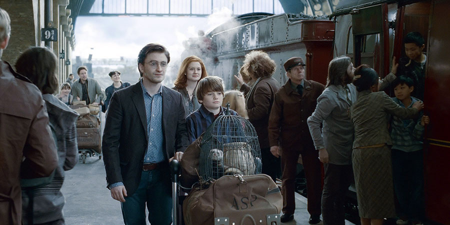 Harry ve Ginny'nin çocuklarının isimleri nelerdir?