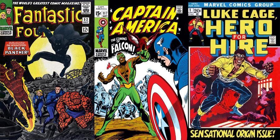 Marvel'in ilk jenerasyon siyah süper kahramanları