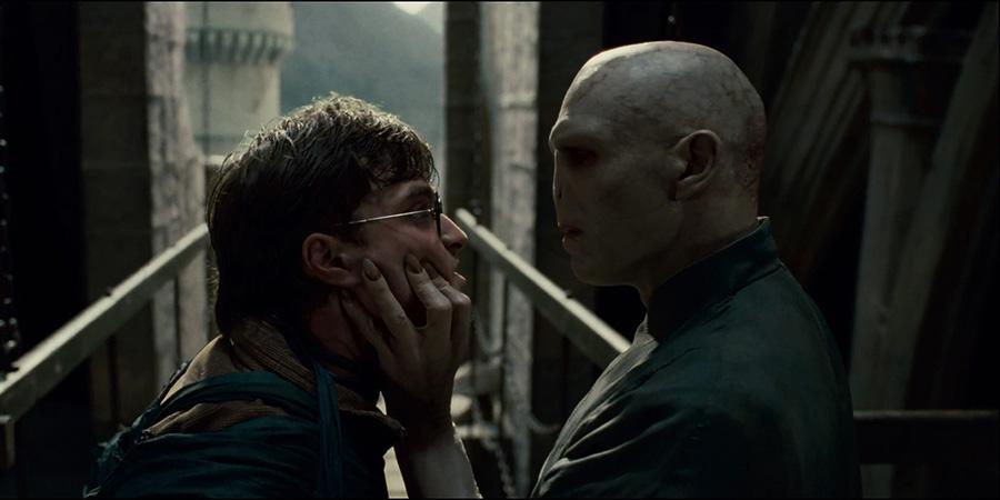 Son büyük savaşta Harry Potter hangi büyüyle Voldemort ile savaşmıştır?