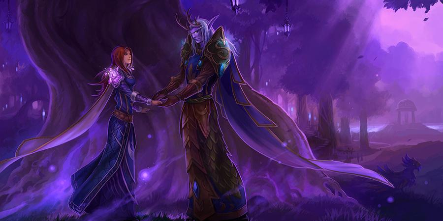 Aşağıdakilerden hangisi Warcraft dünyasının ünlü çiftlerinden biri değildir?
