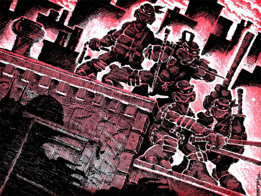 Eastman and Laird's Teenage Mutant Ninja Turtles (1984)
