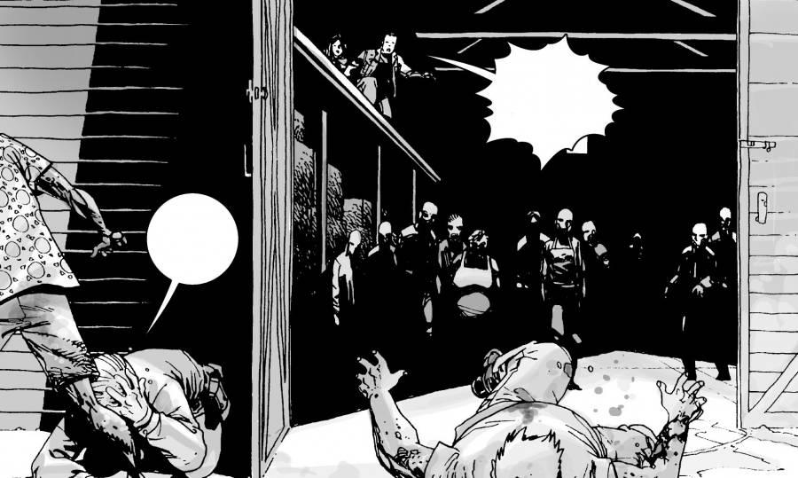 The Walking Dead 011-017 copy