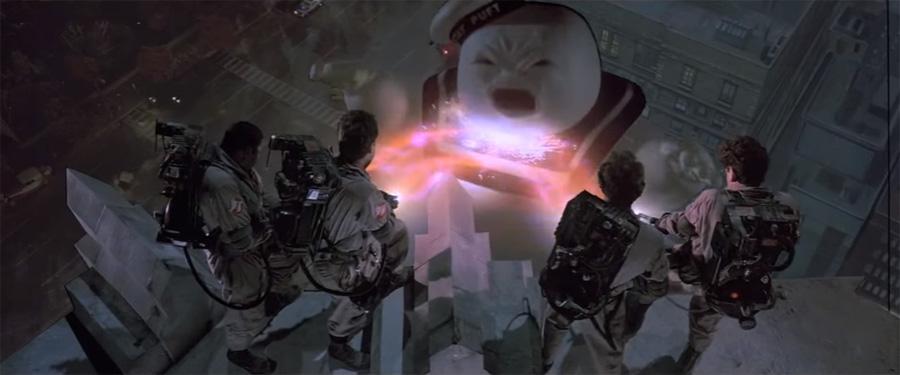 Unutulmaz Marshmallow Man sahnesi