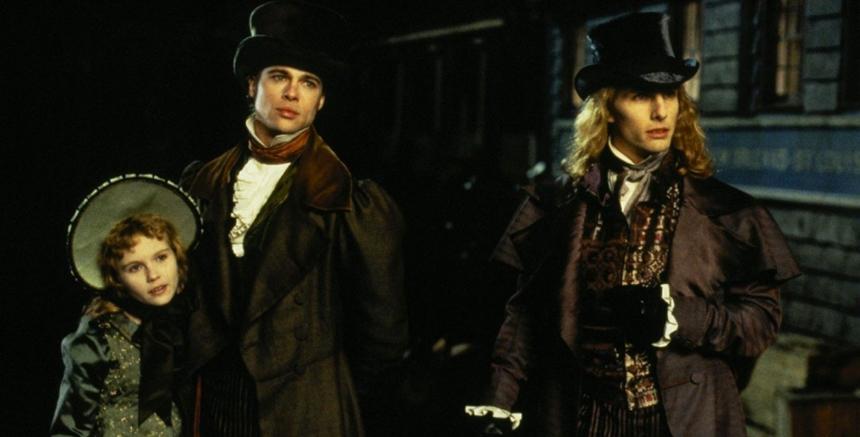 Evet. Tom Cruise, Brad Pitt, Kirsten Dunst. Eh, filmde Antonio Banderas'ta mevcut.